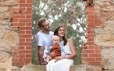 Precious! – family photos at Anstey Hill